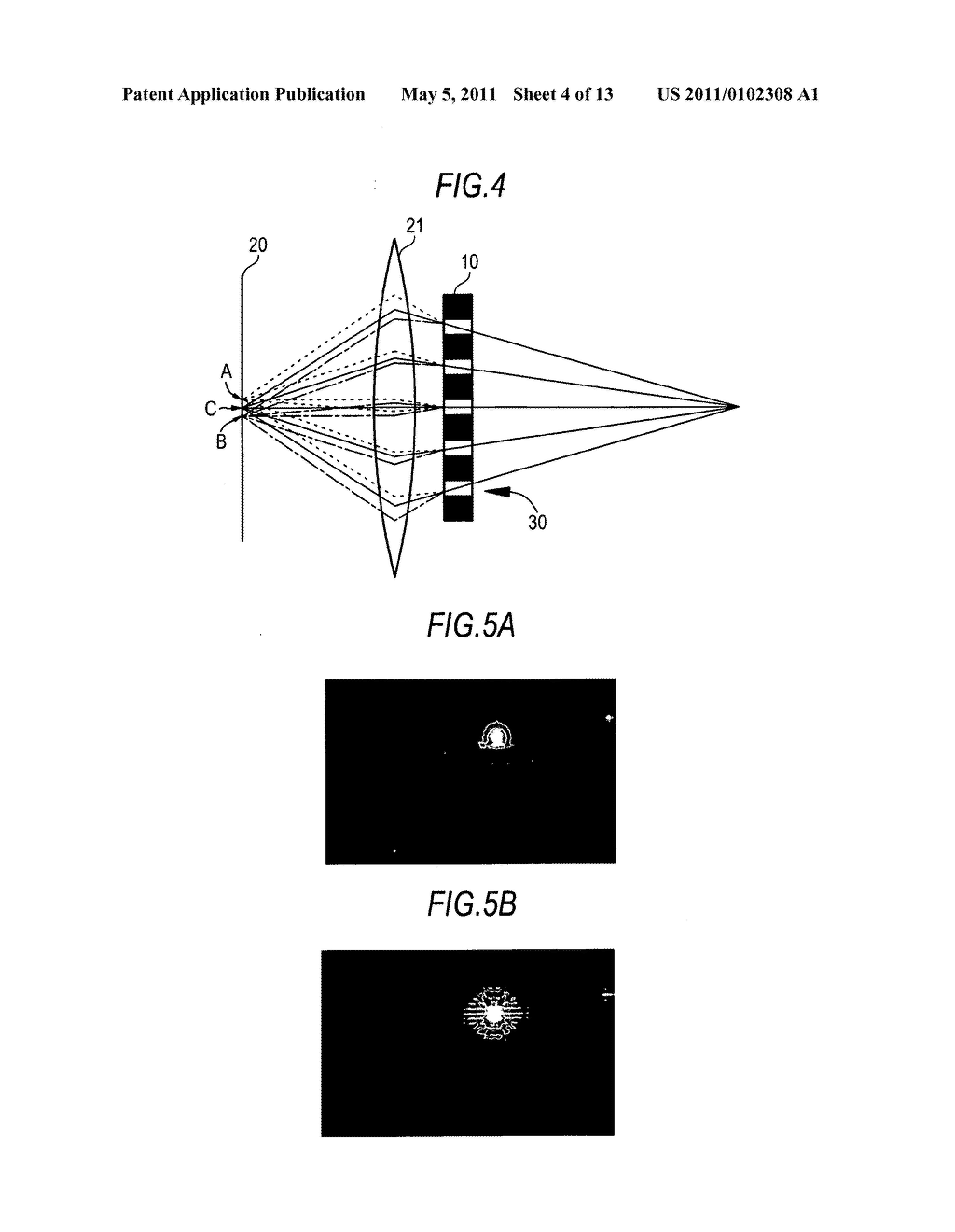 Image display device with imaging unit - diagram, schematic, and image 05