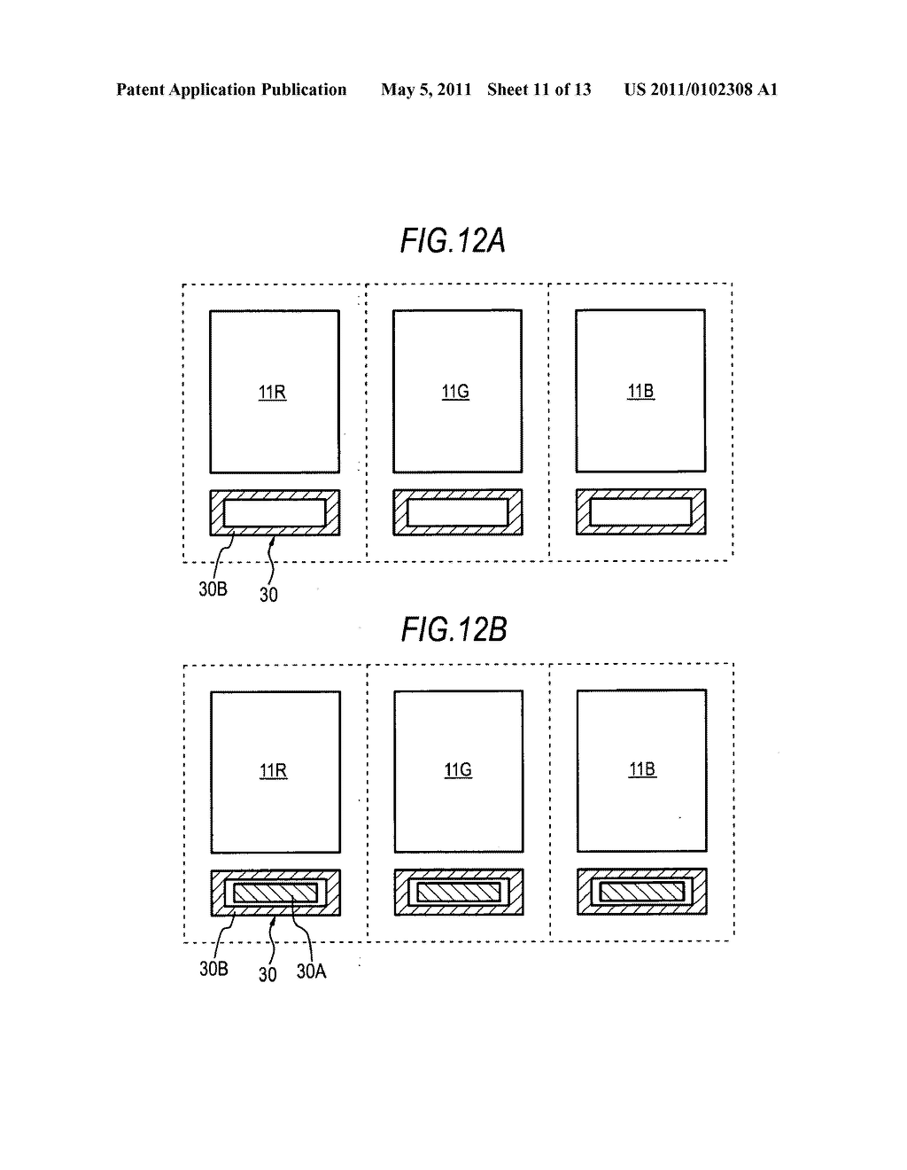 Image display device with imaging unit - diagram, schematic, and image 12