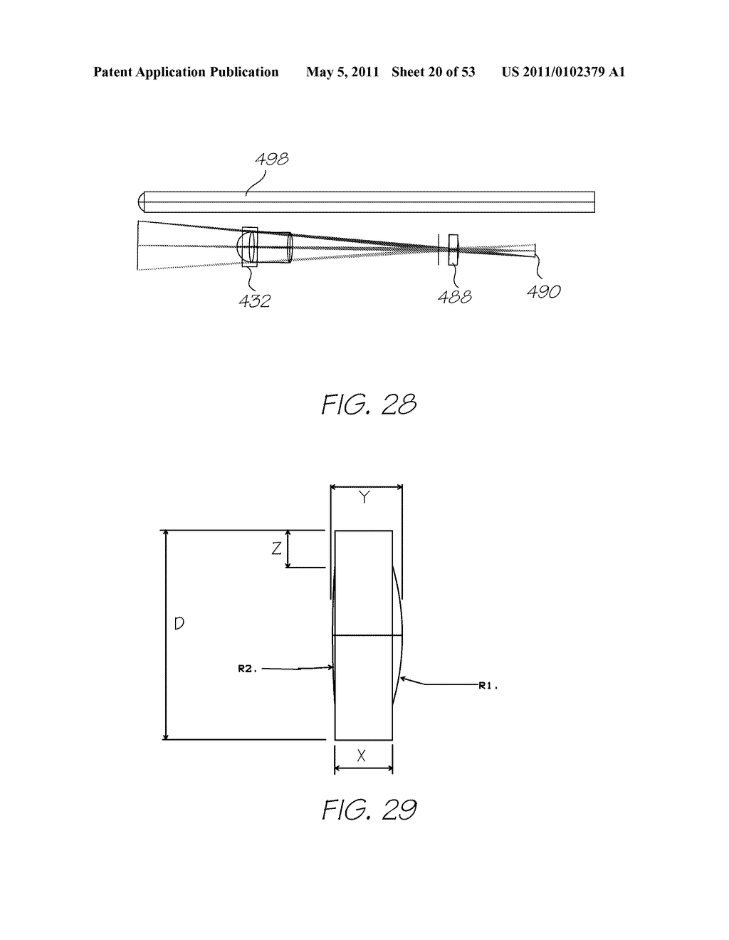 ELECTRONIC STYLUS WITH FORCE SENSING ARRANGEMENT - diagram, schematic, and image 21