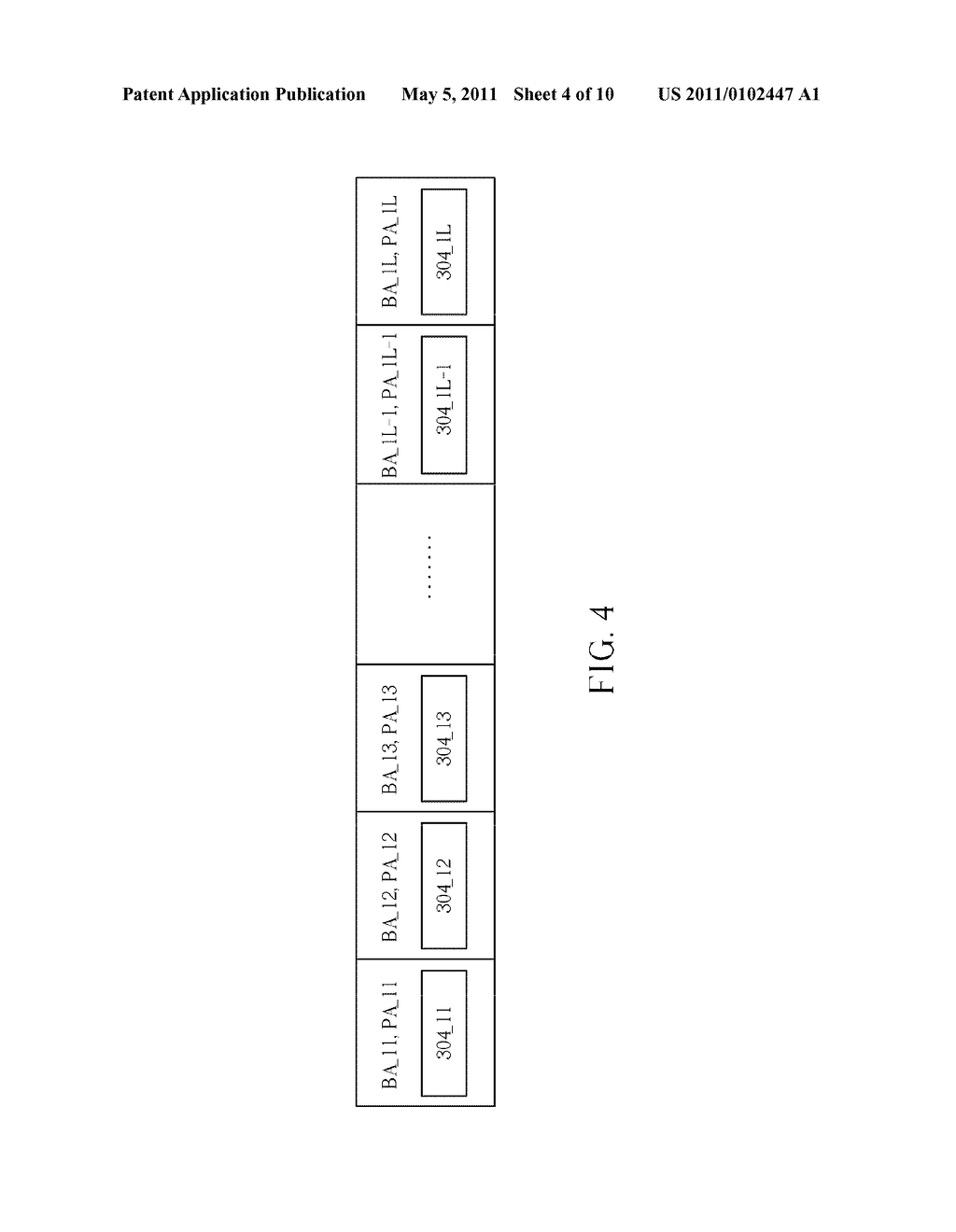 MEMORY ADDRESS MAPPING METHOD FOR CONTROLLING STORAGE OF IMAGES IN MEMORY DEVICE AND MEMORY ADDRESS MAPPING CIRCUIT THEREOF - diagram, schematic, and image 05