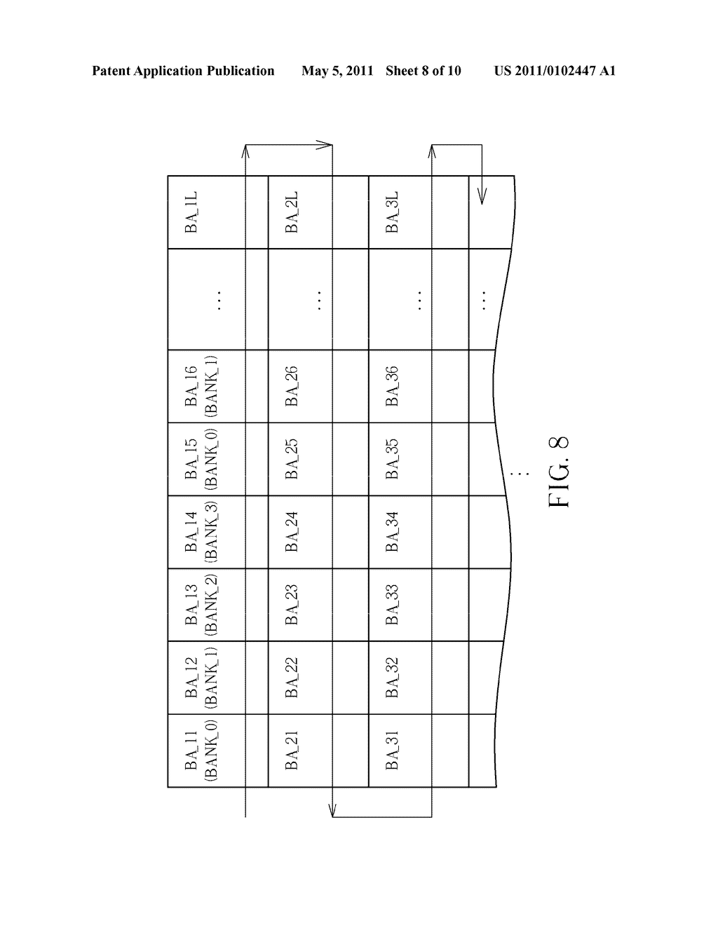 MEMORY ADDRESS MAPPING METHOD FOR CONTROLLING STORAGE OF IMAGES IN MEMORY DEVICE AND MEMORY ADDRESS MAPPING CIRCUIT THEREOF - diagram, schematic, and image 09