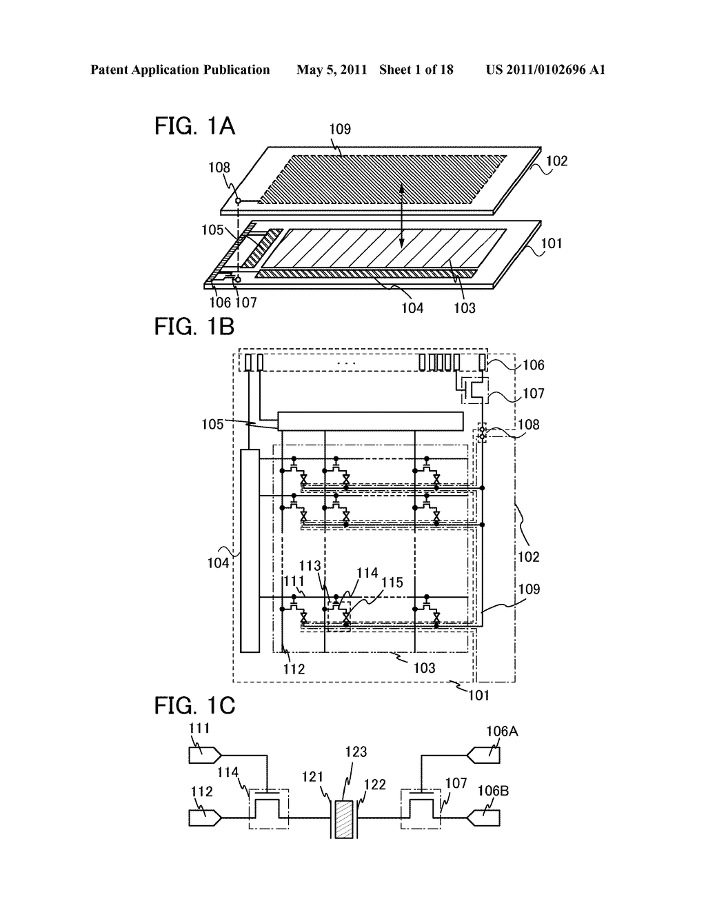 LIQUID CRYSTAL DISPLAY DEVICE, DRIVING METHOD OF THE SAME, AND ELECTRONIC APPLIANCE INCLUDING THE SAME - diagram, schematic, and image 02