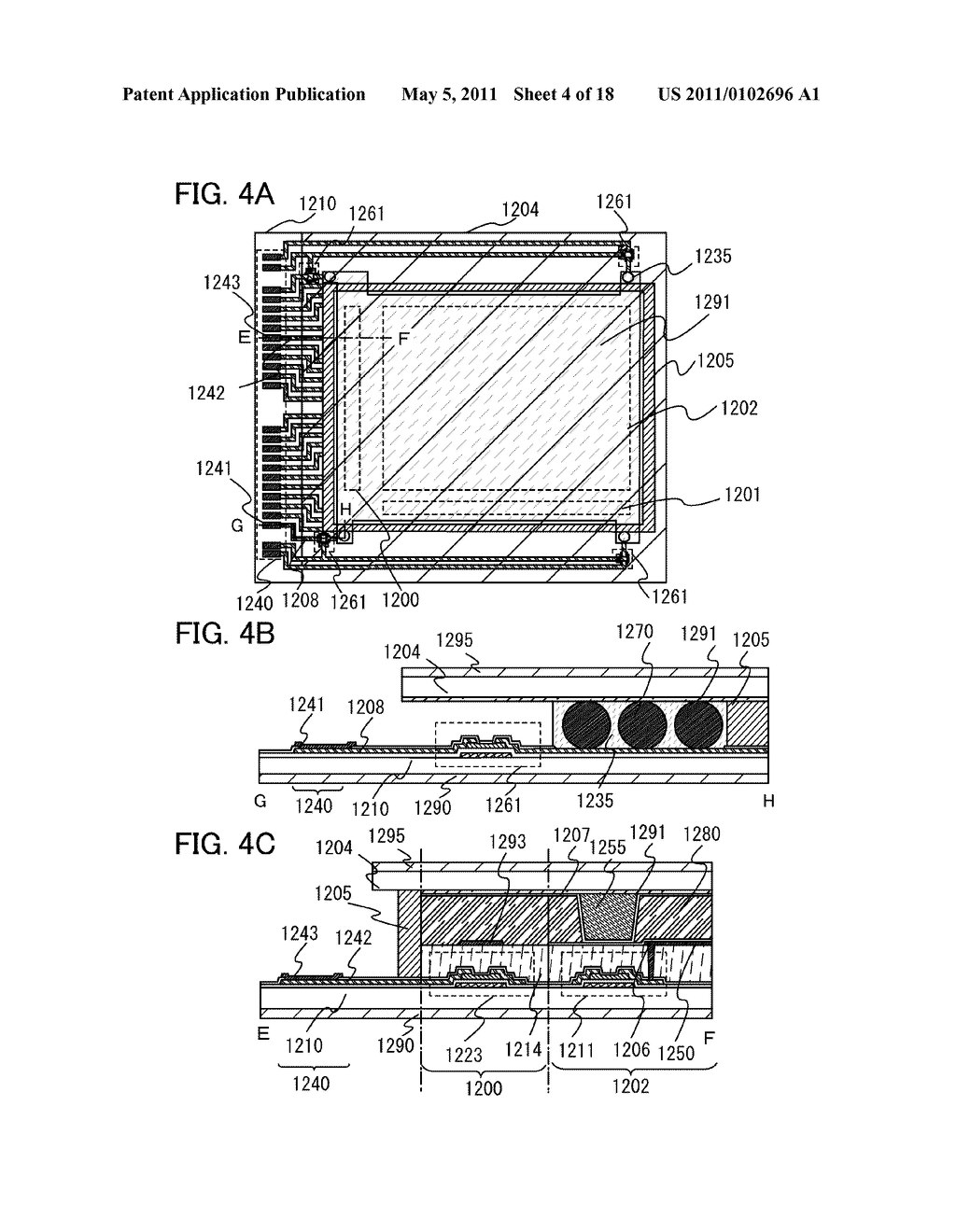 LIQUID CRYSTAL DISPLAY DEVICE, DRIVING METHOD OF THE SAME, AND ELECTRONIC APPLIANCE INCLUDING THE SAME - diagram, schematic, and image 05
