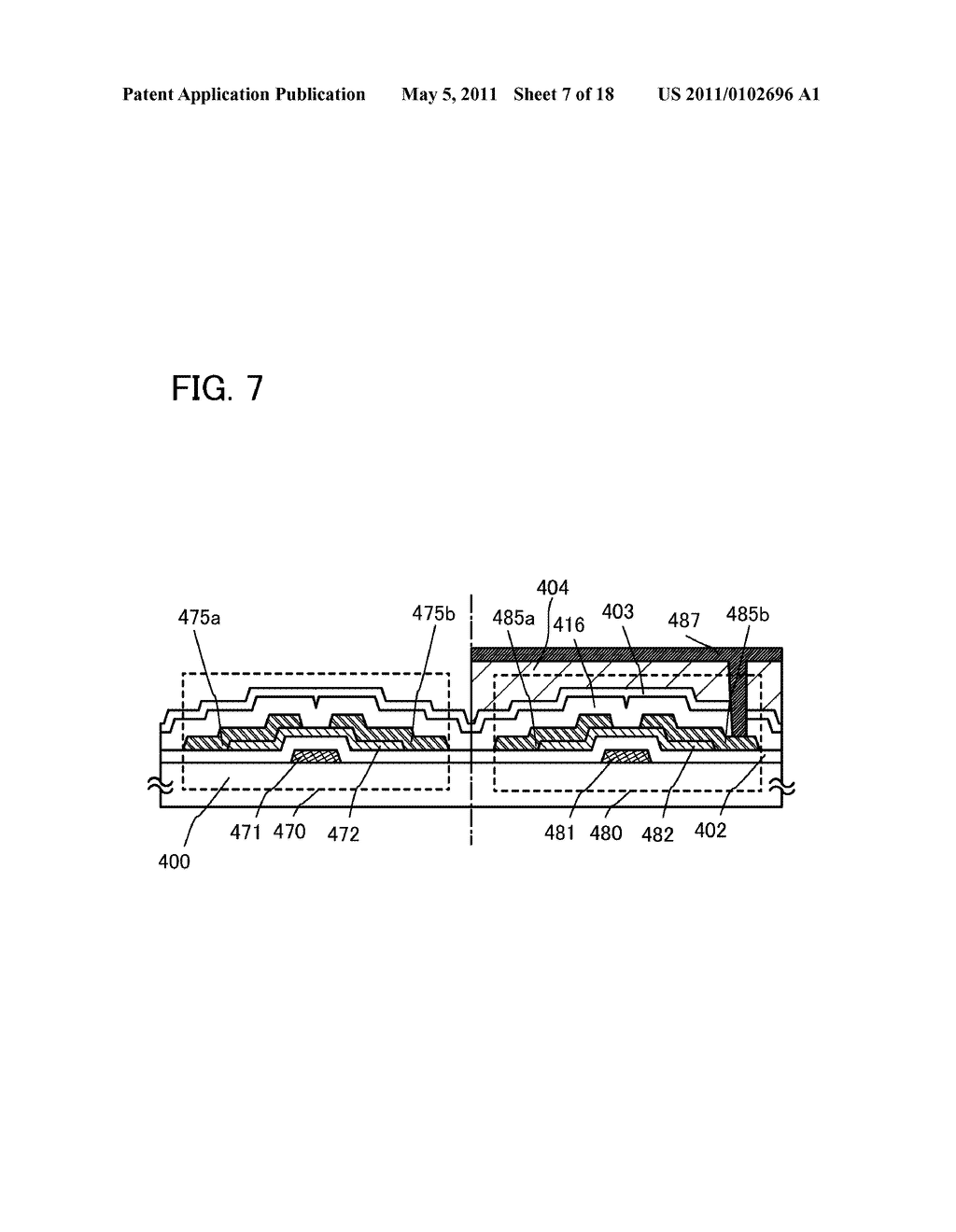 LIQUID CRYSTAL DISPLAY DEVICE, DRIVING METHOD OF THE SAME, AND ELECTRONIC APPLIANCE INCLUDING THE SAME - diagram, schematic, and image 08