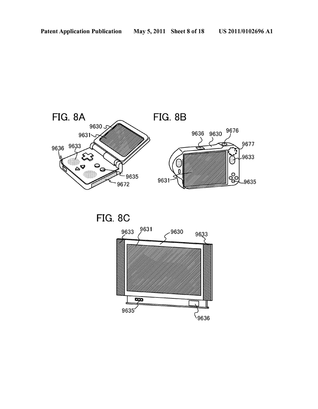 LIQUID CRYSTAL DISPLAY DEVICE, DRIVING METHOD OF THE SAME, AND ELECTRONIC APPLIANCE INCLUDING THE SAME - diagram, schematic, and image 09