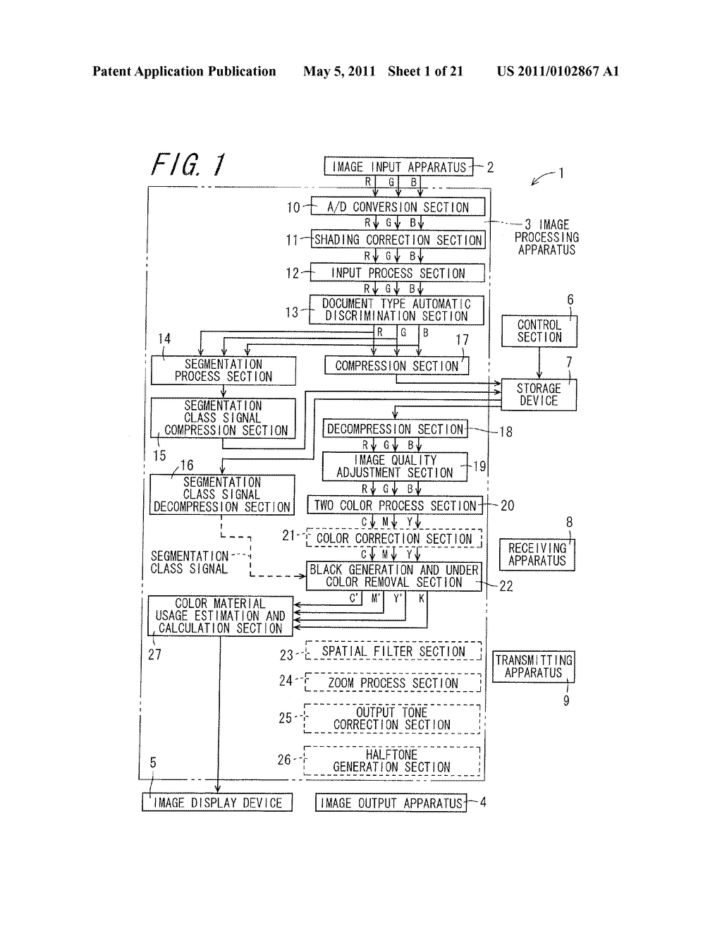 IMAGE PROCESSING APPARATUS, IMAGE FORMING APPARATUS, IMAGE PROCESSING METHOD, AND COMPUTER-READABLE RECORDING MEDIUM ON WHICH IMAGE PROCESSING PROGRAM IS RECORDED - diagram, schematic, and image 02