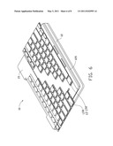 ELECTRONIC DEVICE WITH SLIDABLE KEYBOARD diagram and image