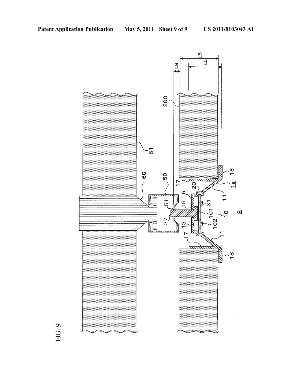 Device for Supporting Light Emitting Module - diagram, schematic, and image 10