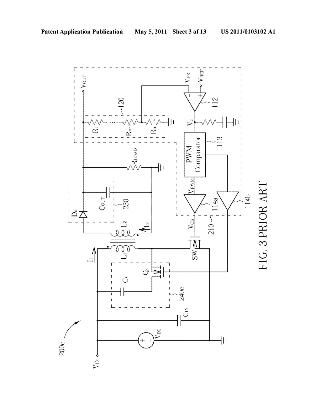 VOLTAGE CONVERTER WITH HIGH EFFICIENCY - diagram, schematic, and image 04