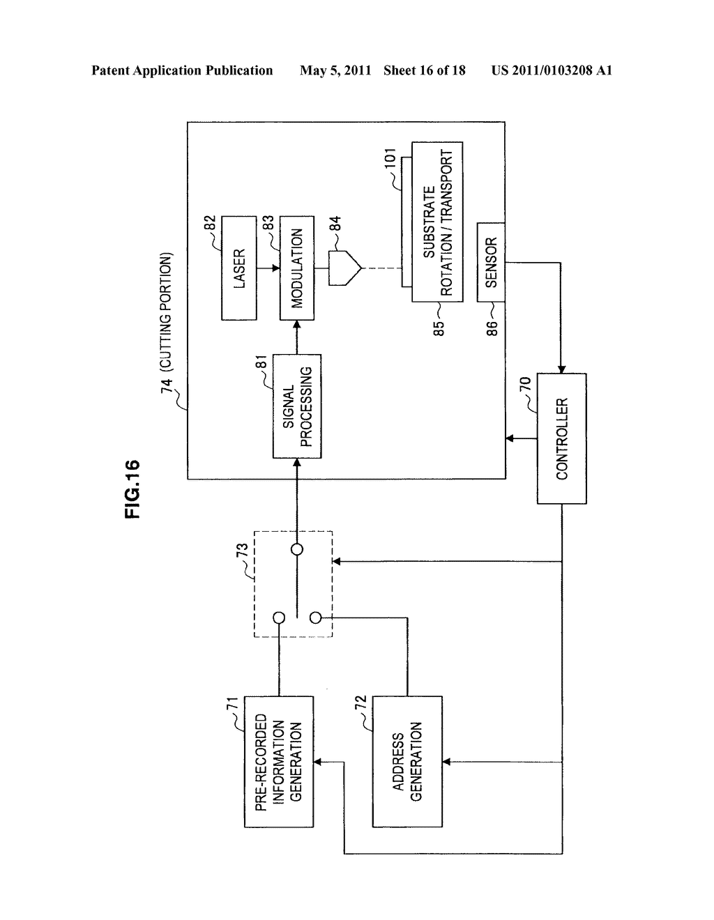 MANUFACTURING METHOD FOR OPTICAL DISC, OPTICAL DISC, PLAYBACK METHOD FOR OPTICAL DISC, PLAYBACK APPARATUS FOR OPTICAL DISC, RECORDING APPARATUS FOR OPTICAL DISC - diagram, schematic, and image 17