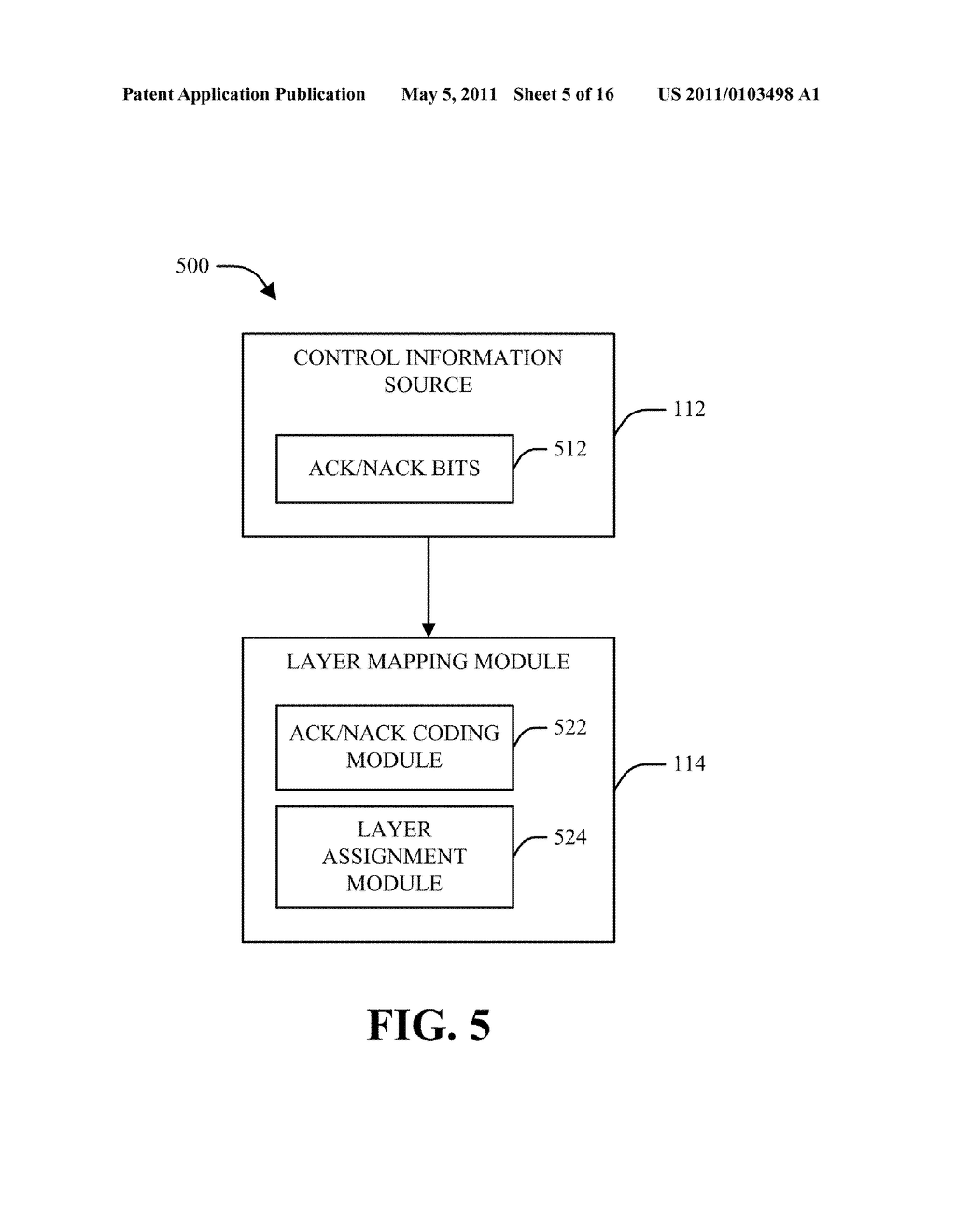 METHOD AND APPARATUS FOR CONTROL AND DATA MULTIPLEXING IN A MIMO COMMUNICATION SYSTEM - diagram, schematic, and image 06