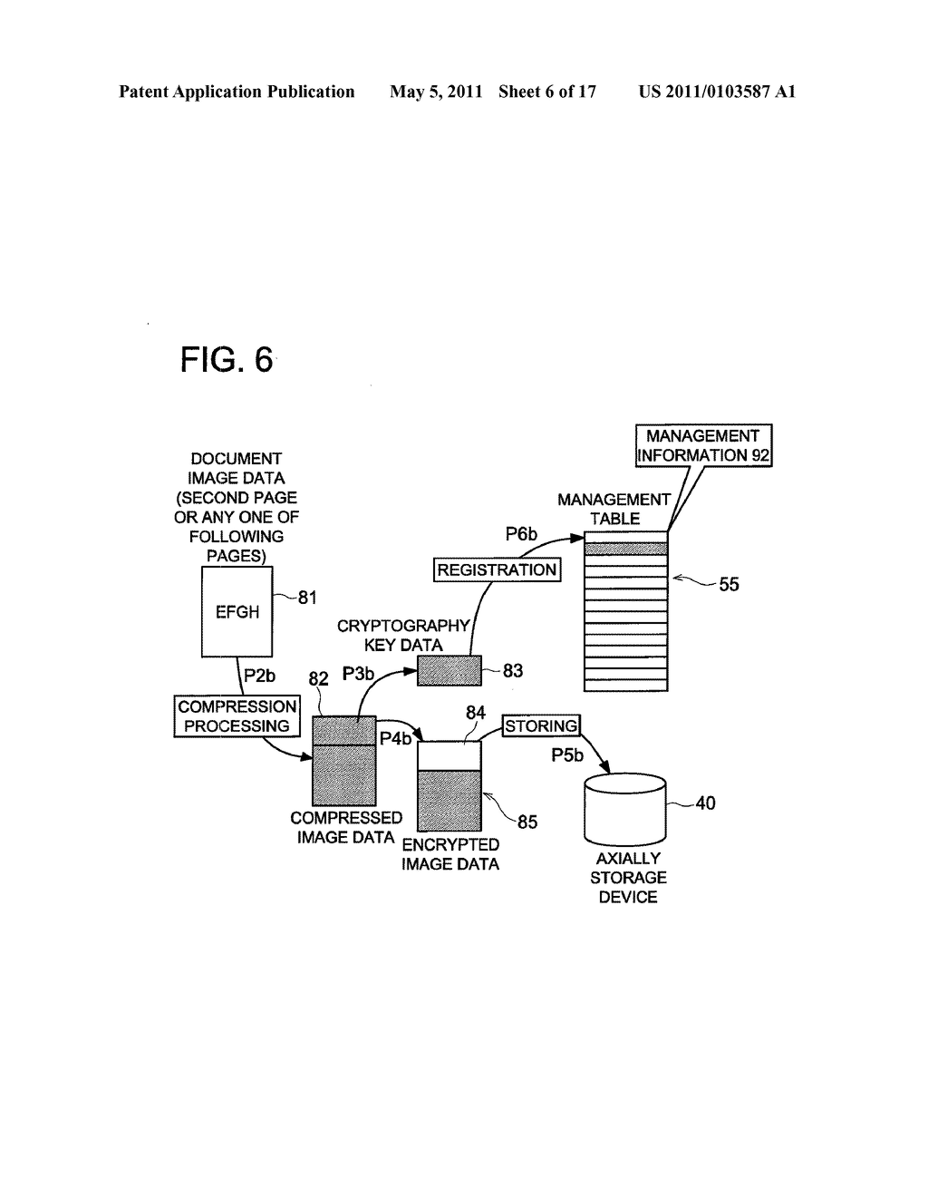 DATA CONCEALING APPARATUS, DATA DECRYPTION APPARATUS AND IMAGE FORMING APPARATUS HAVING DATA ENCRYPTING FUNCTION - diagram, schematic, and image 07