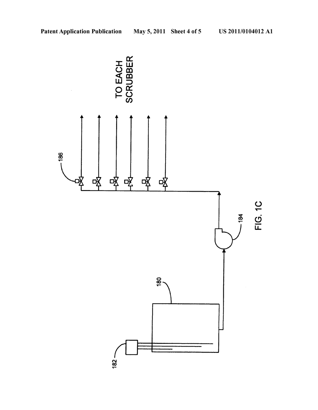 Method and Apparatus for Use of Reacted Hydrogen Peroxide Compounds in Industrial Process Waters - diagram, schematic, and image 05