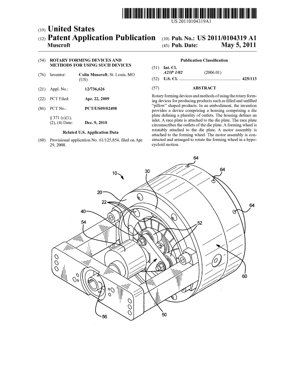 ROTARY FORMING DEVICES AND METHODS FOR USING SUCH DEVICES - diagram, schematic, and image 01