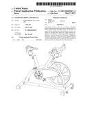 STATIONARY ARTICULATED BICYCLE diagram and image