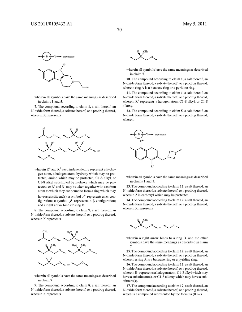AMINOCARBOXYLIC ACID DERIVATIVE AND MEDICINAL USE THEREOF - diagram, schematic, and image 81