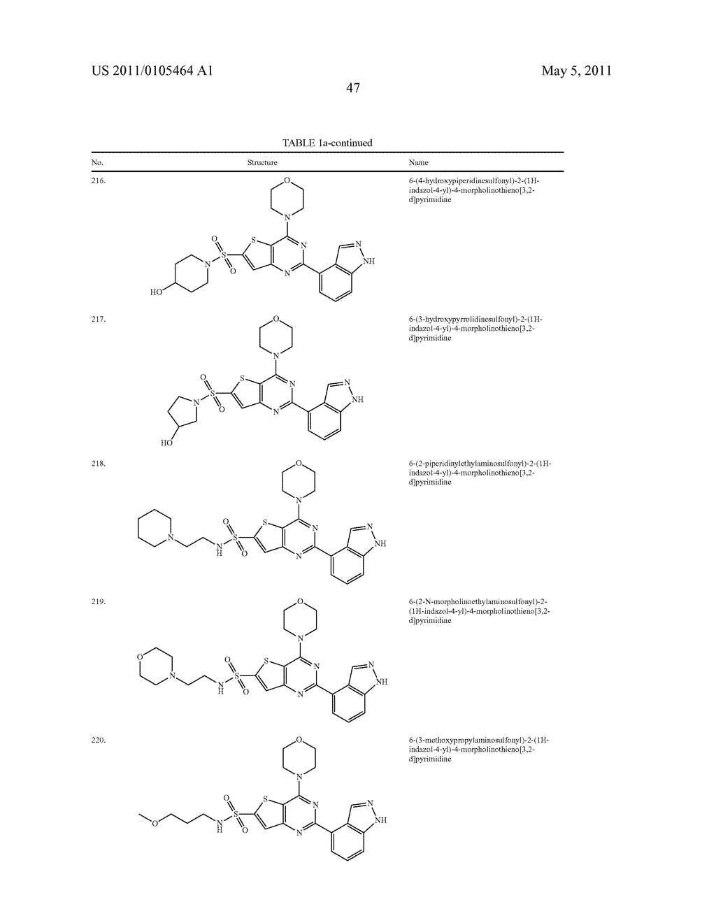 PHOSPHOINOSITIDE 3-KINASE INHIBITOR COMPOUNDS AND METHODS OF USE - diagram, schematic, and image 48