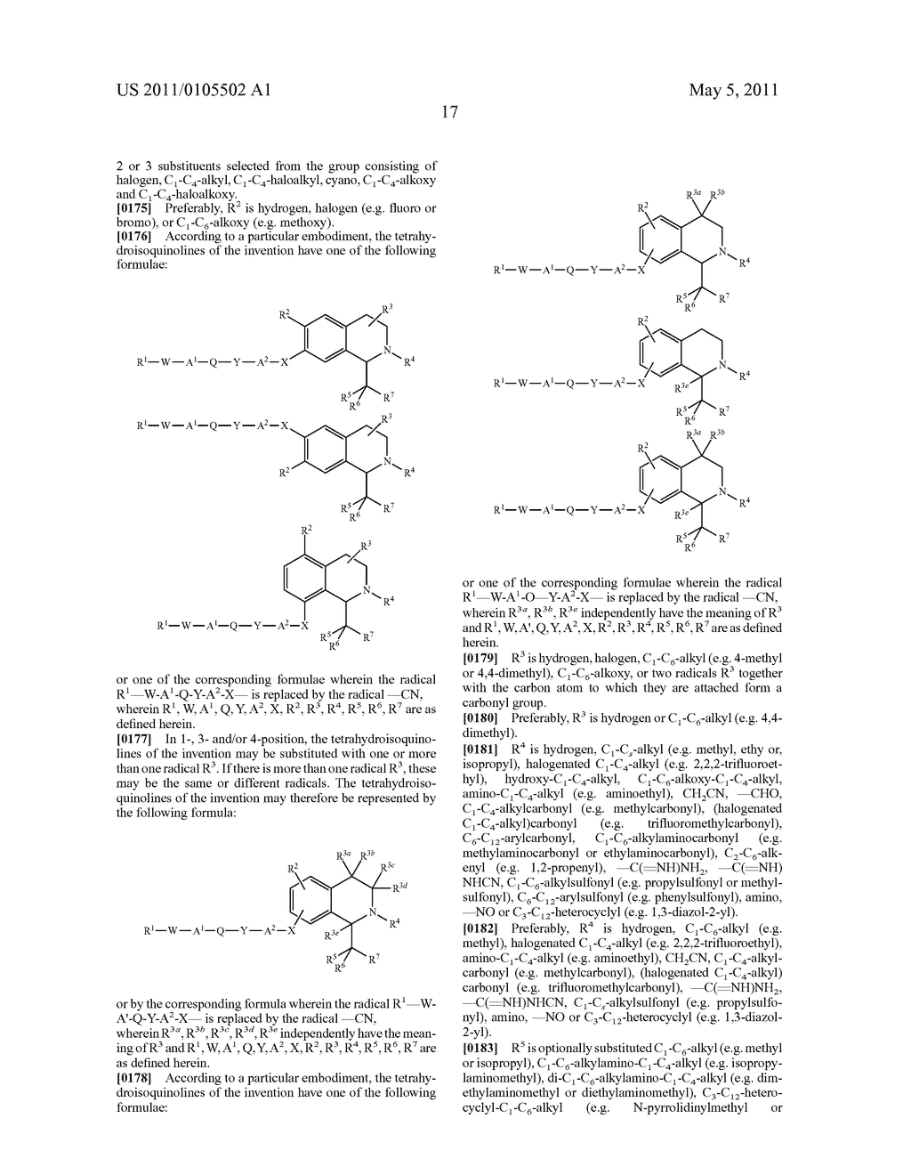 TETRAHYDROISOQUINOLINES, PHARMACEUTICAL COMPOSITIONS CONTAINING THEM, AND THEIR USE IN THERAPY - diagram, schematic, and image 18