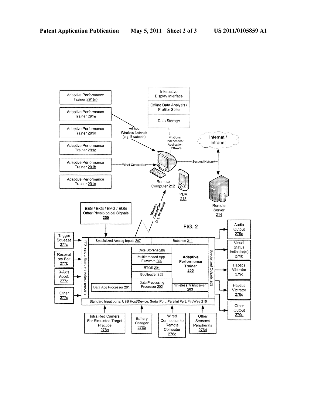 Adaptive Performance Trainer - diagram, schematic, and image 03