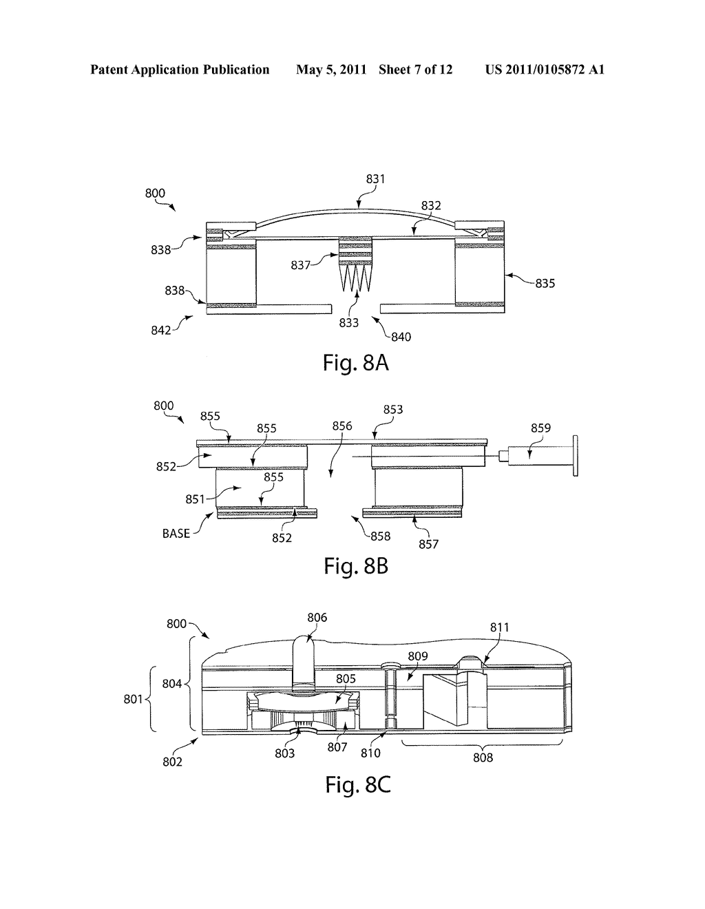 SYSTEMS AND METHODS FOR APPLICATION TO SKIN AND CONTROL OF ACTUATION, DELIVERY, AND/OR PERCEPTION THEREOF - diagram, schematic, and image 08