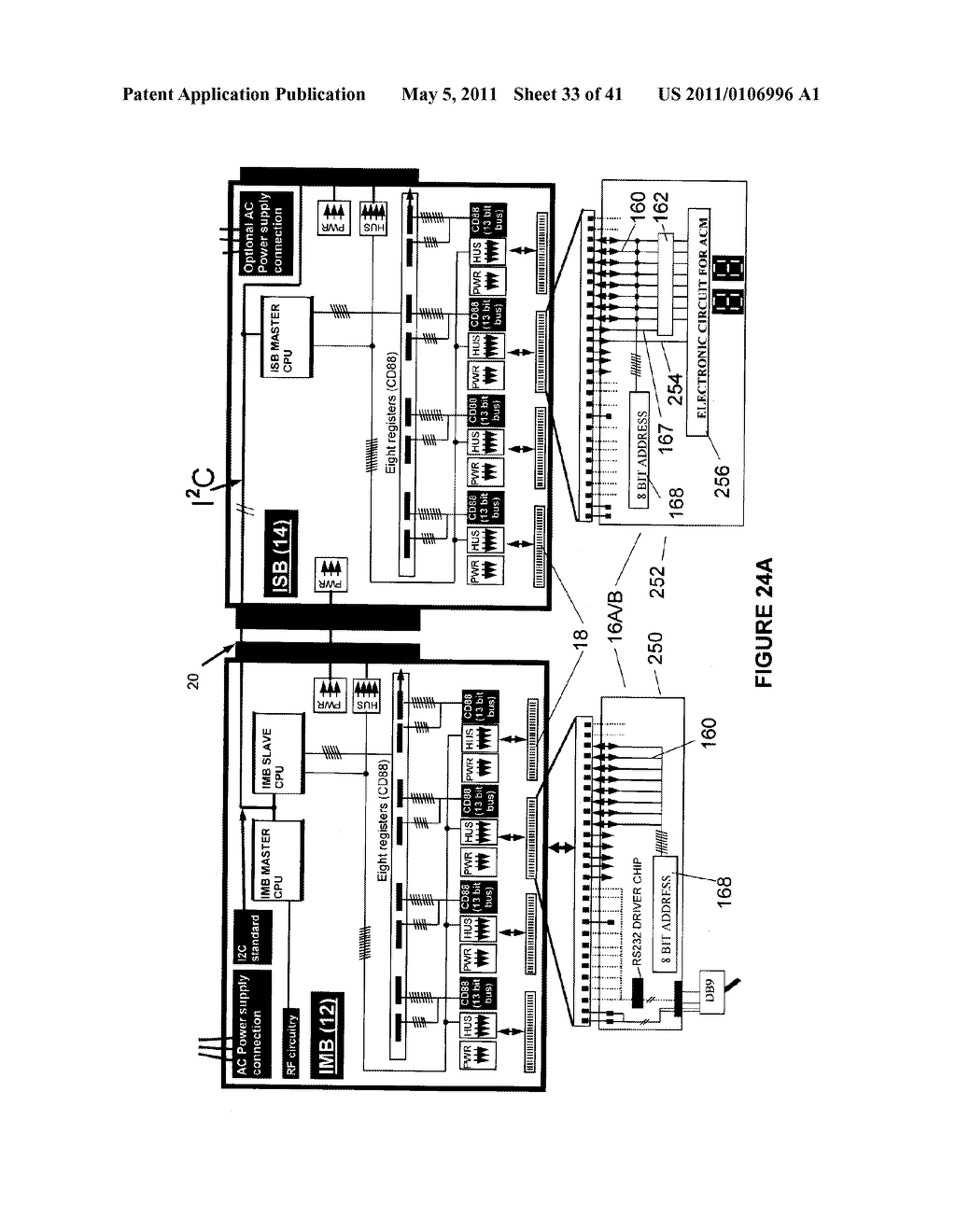 COMMUNICATIONS CONTROL BUS AND APPARATUS FOR CONTROLLING MULTIPLE ELECTRONIC HARDWARE DEVICES - diagram, schematic, and image 34