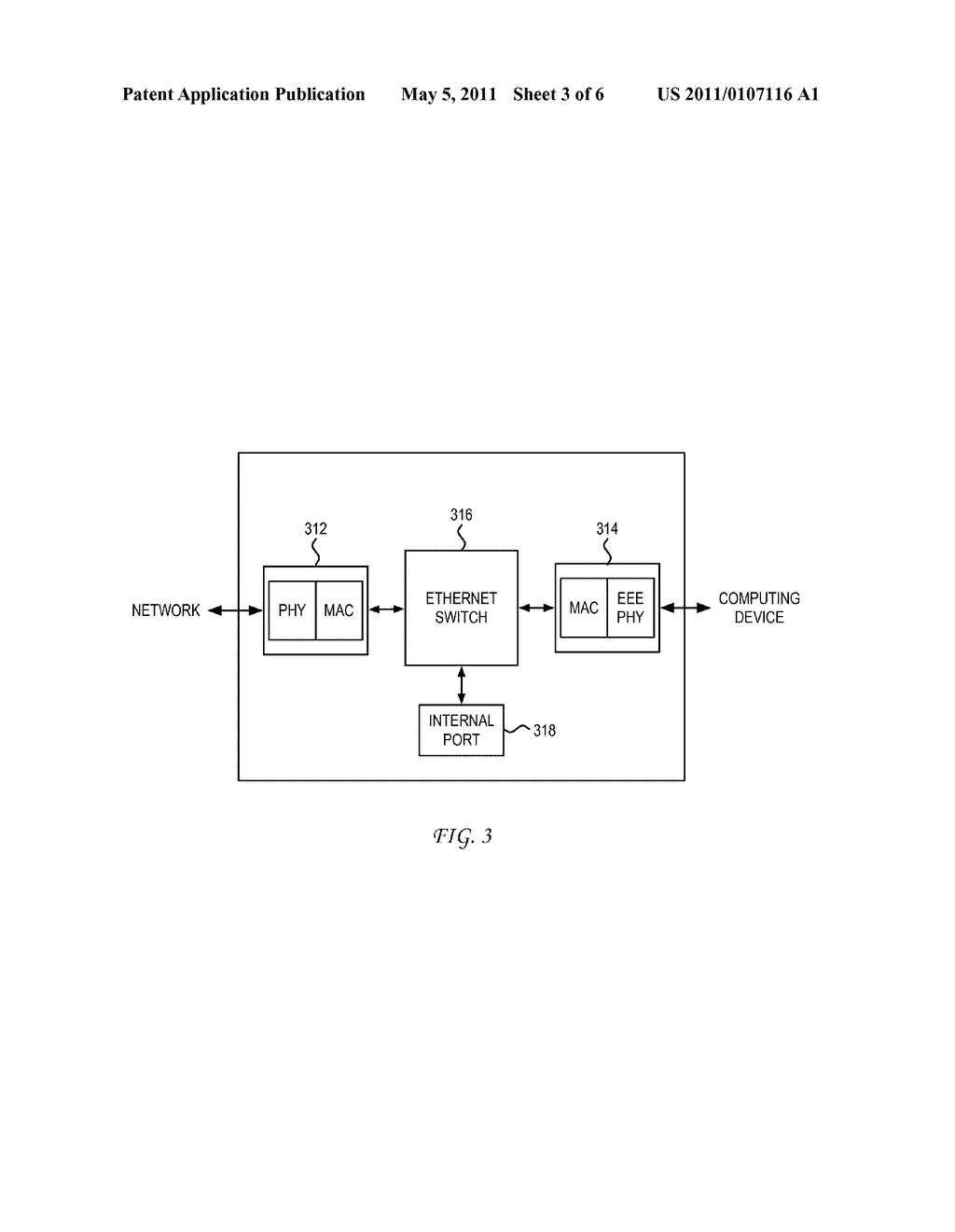 System and Method for Power Over Ethernet Enabled Network Management - diagram, schematic, and image 04