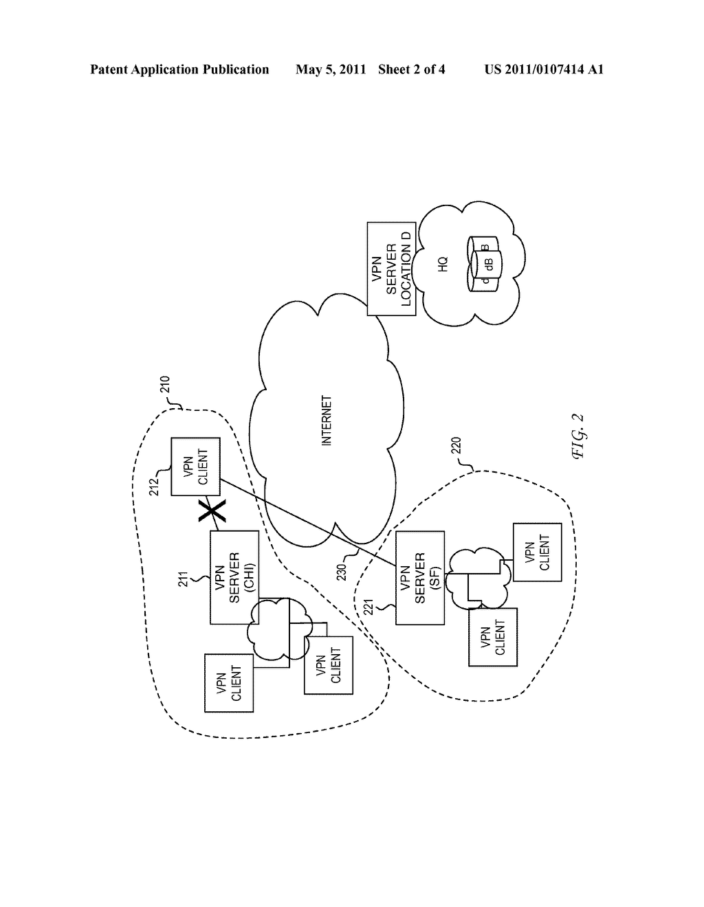 System and Method for Location Assisted Virtual Private Networks - diagram, schematic, and image 03