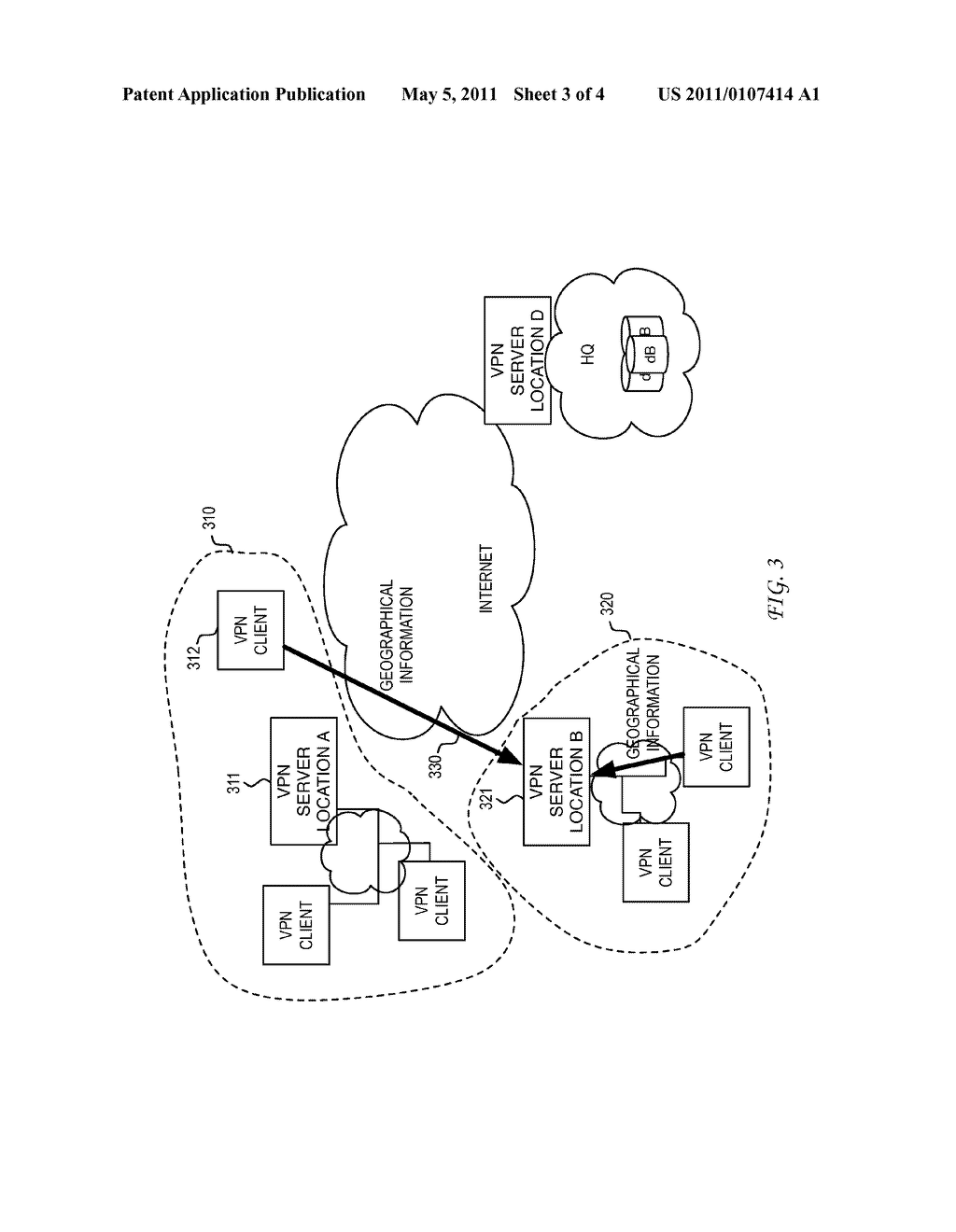 System and Method for Location Assisted Virtual Private Networks - diagram, schematic, and image 04
