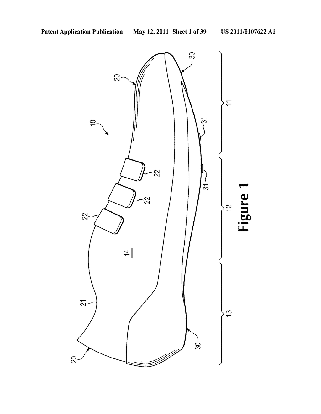 Footwear Incorporating A Composite Shell Sole Structure - diagram, schematic, and image 02