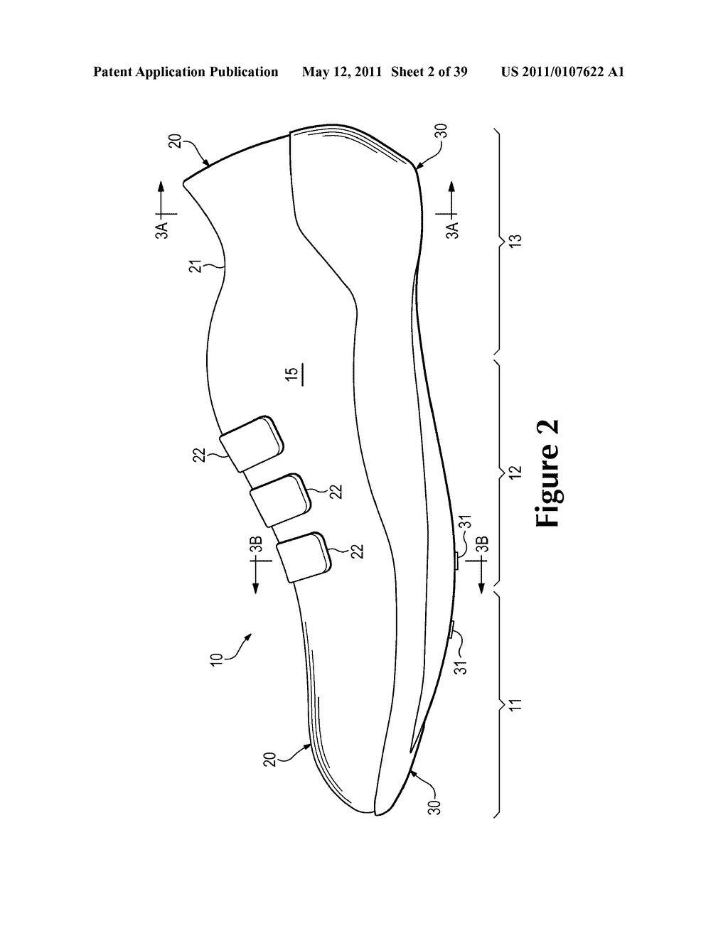 Footwear Incorporating A Composite Shell Sole Structure - diagram, schematic, and image 03