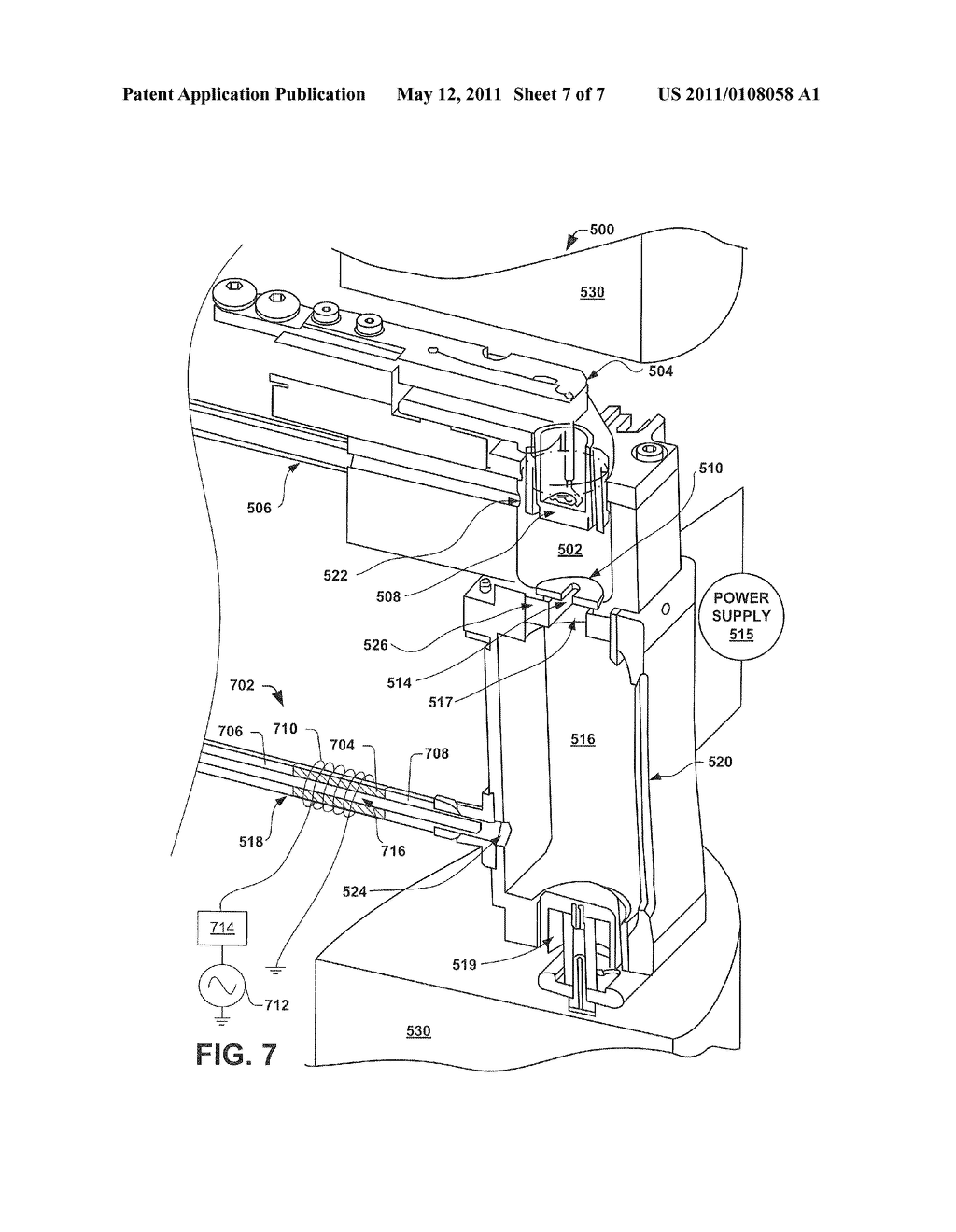METHOD AND APPARATUS FOR CLEANING RESIDUE FROM AN ION SOURCE COMPONENT - diagram, schematic, and image 08