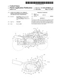 LAYOUT OF COMPACT ALL TERRAIN VEHICLE FOR EXHAUST OUTLET DUCT AND AIR INLET DUCT POSITIONING diagram and image