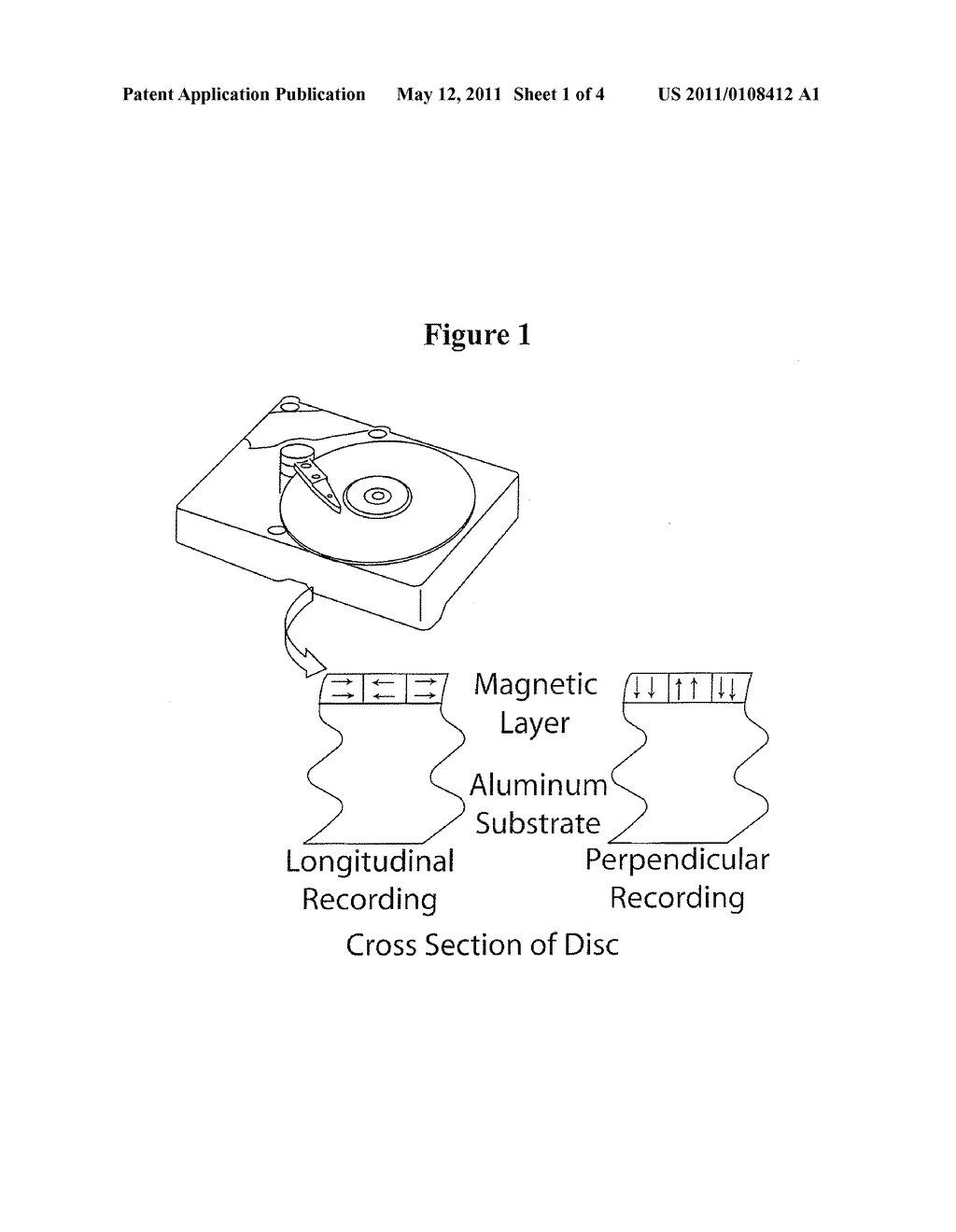 Method to Improve Corrosion Performance of Exchange Coupled Granular Perpendicular Media - diagram, schematic, and image 02