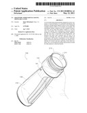 ERGONOMIC SPORTS BOTTLE HAVING DISPOSABLE LINER diagram and image