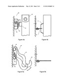 WALL MOUNTING FOR CENTRAL HEATING RADIATORS diagram and image