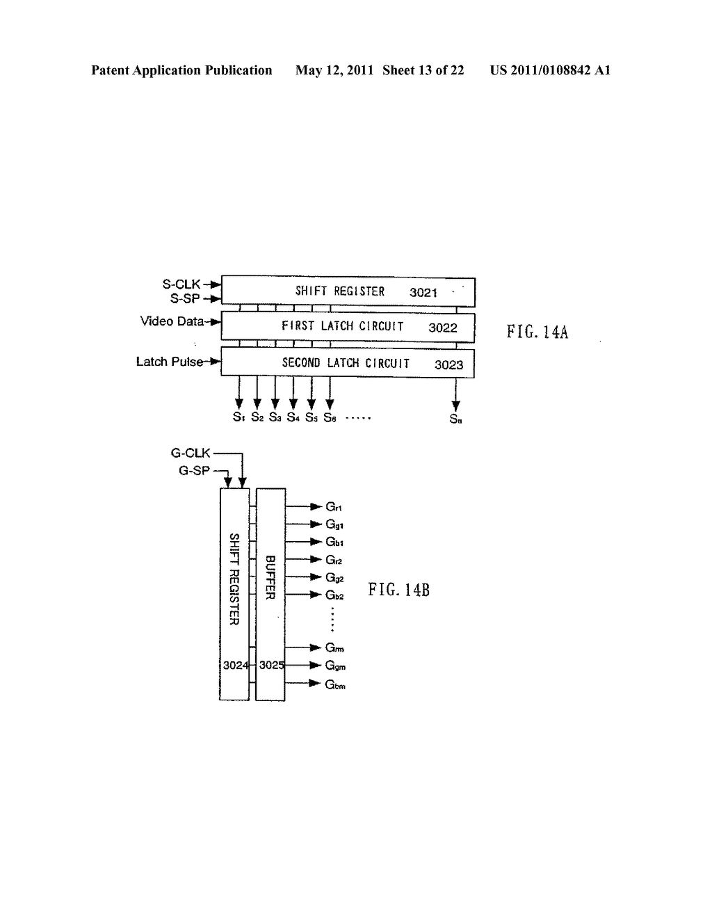 DISPLAY DEVICE AND ELECTRONIC APPARATUS - diagram, schematic, and image 14