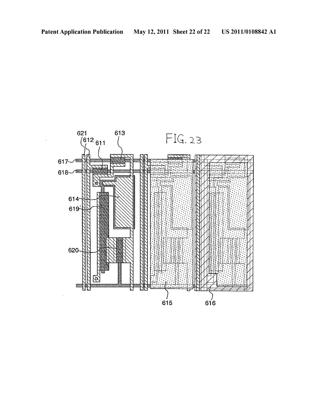 DISPLAY DEVICE AND ELECTRONIC APPARATUS - diagram, schematic, and image 23