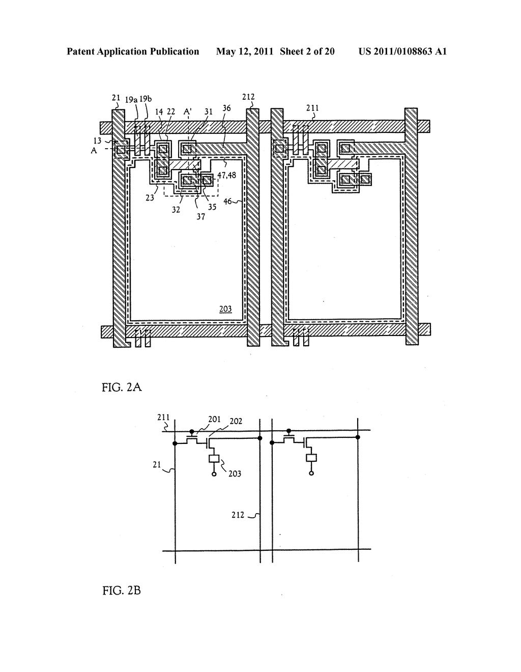 METHOD FOR MANUFACTURING AN ELECTRO-OPTICAL DEVICE - diagram, schematic, and image 03