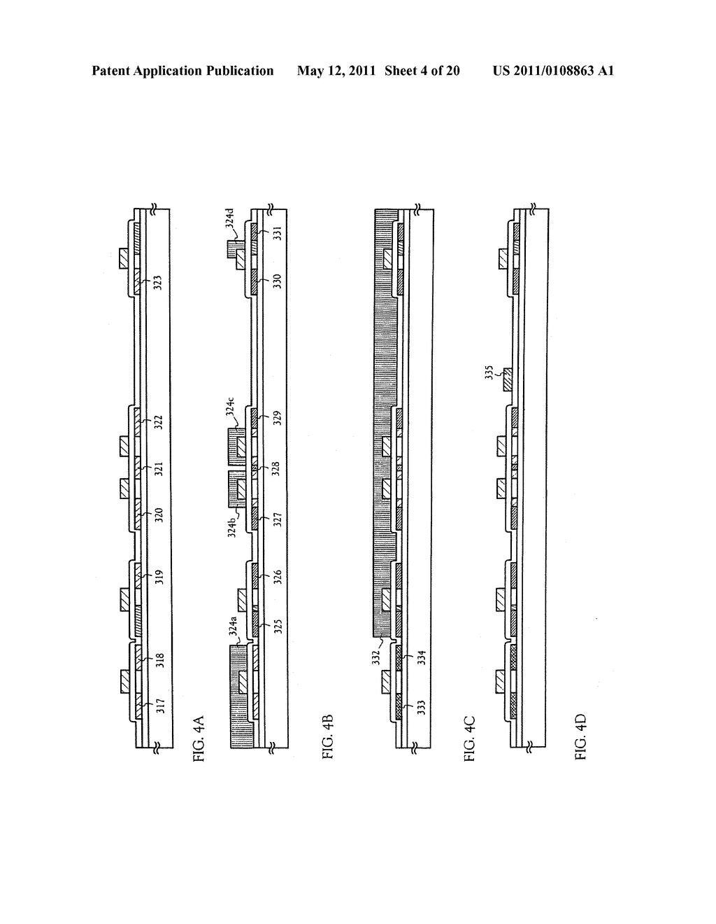 METHOD FOR MANUFACTURING AN ELECTRO-OPTICAL DEVICE - diagram, schematic, and image 05