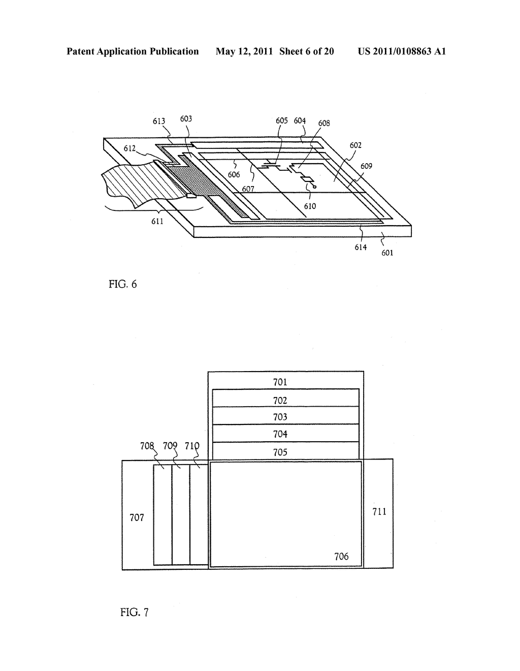 METHOD FOR MANUFACTURING AN ELECTRO-OPTICAL DEVICE - diagram, schematic, and image 07
