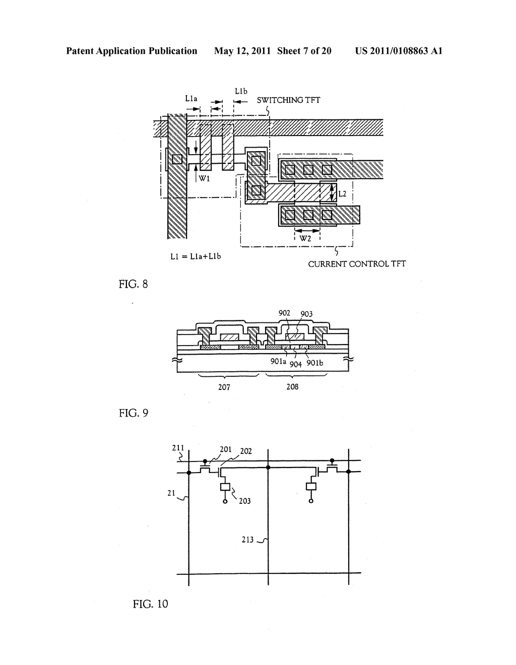 METHOD FOR MANUFACTURING AN ELECTRO-OPTICAL DEVICE - diagram, schematic, and image 08
