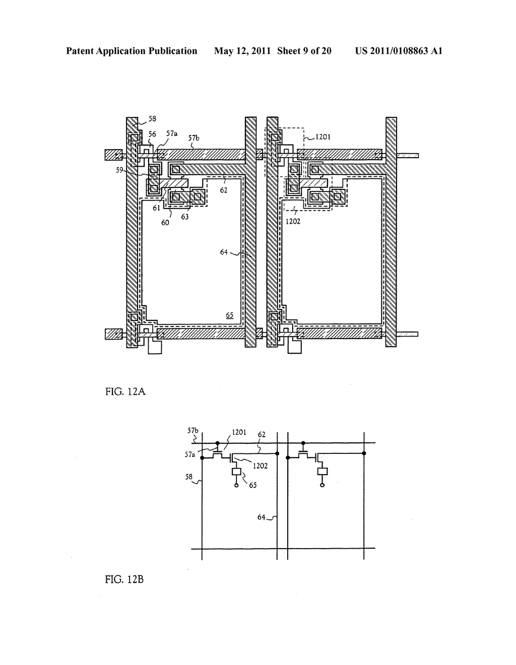 METHOD FOR MANUFACTURING AN ELECTRO-OPTICAL DEVICE - diagram, schematic, and image 10