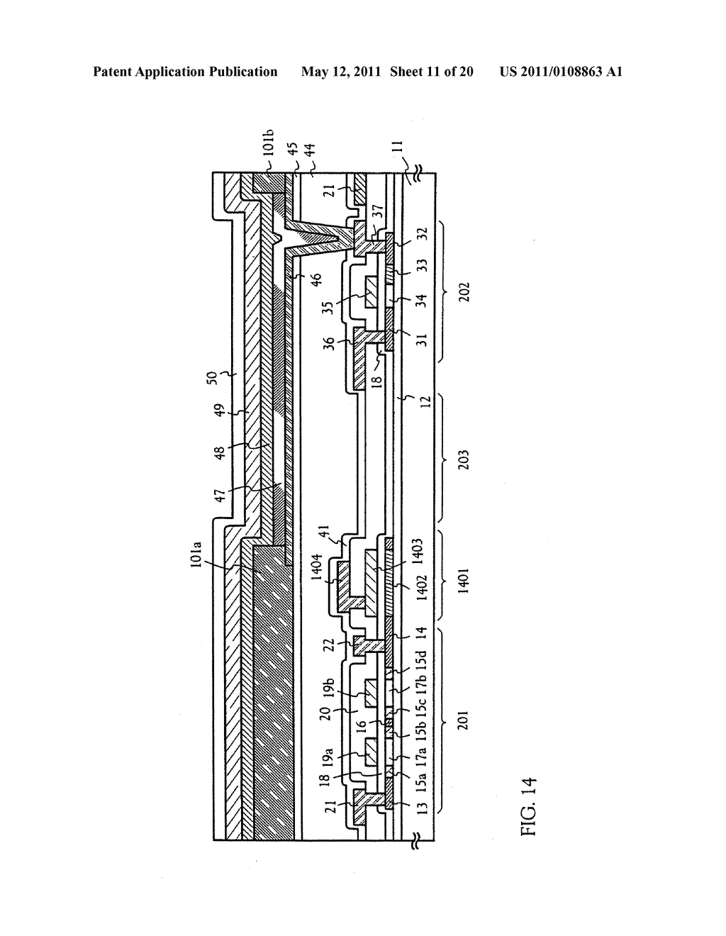 METHOD FOR MANUFACTURING AN ELECTRO-OPTICAL DEVICE - diagram, schematic, and image 12