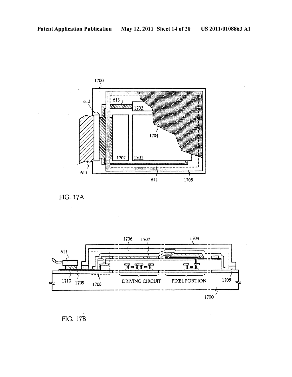 METHOD FOR MANUFACTURING AN ELECTRO-OPTICAL DEVICE - diagram, schematic, and image 15