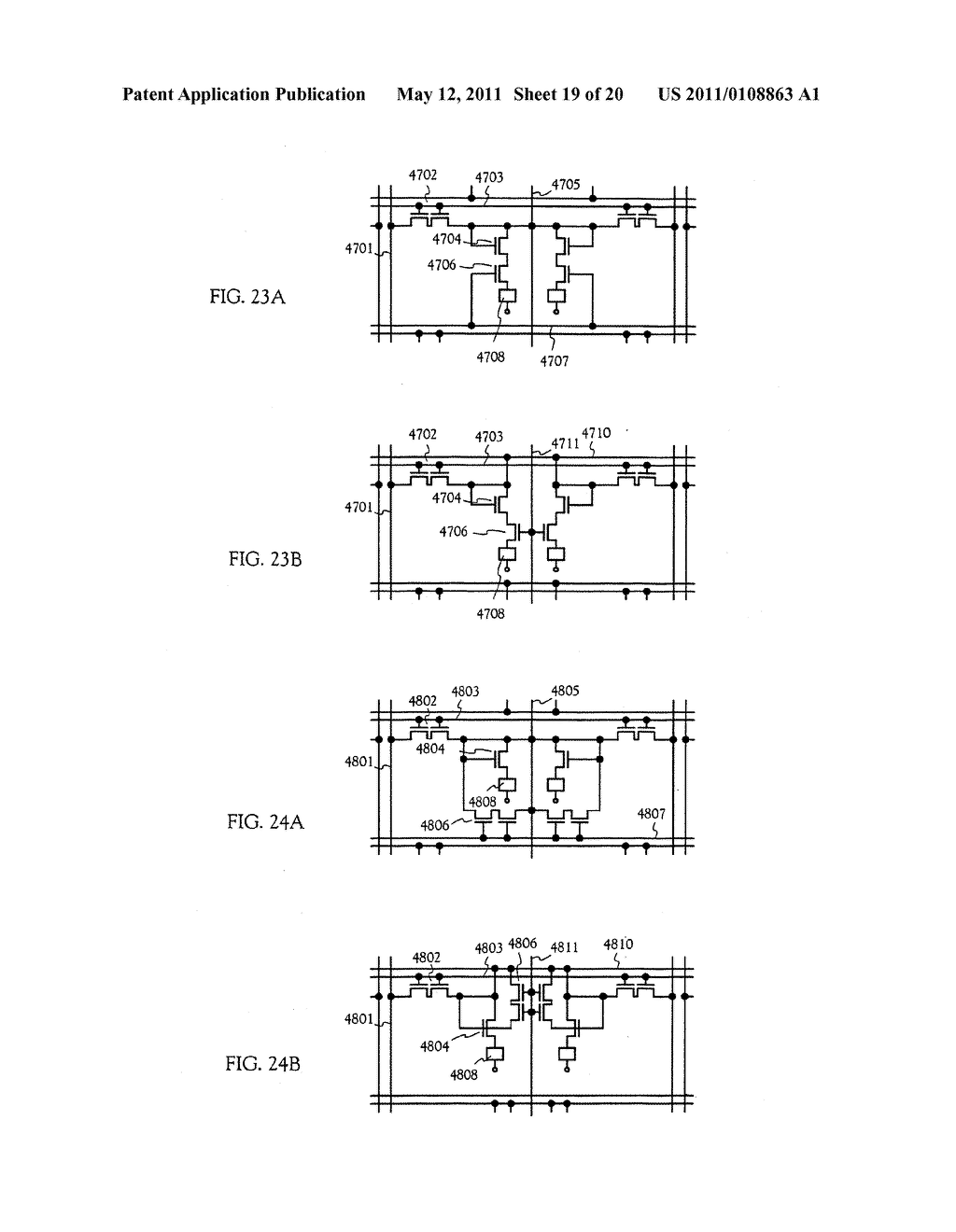 METHOD FOR MANUFACTURING AN ELECTRO-OPTICAL DEVICE - diagram, schematic, and image 20