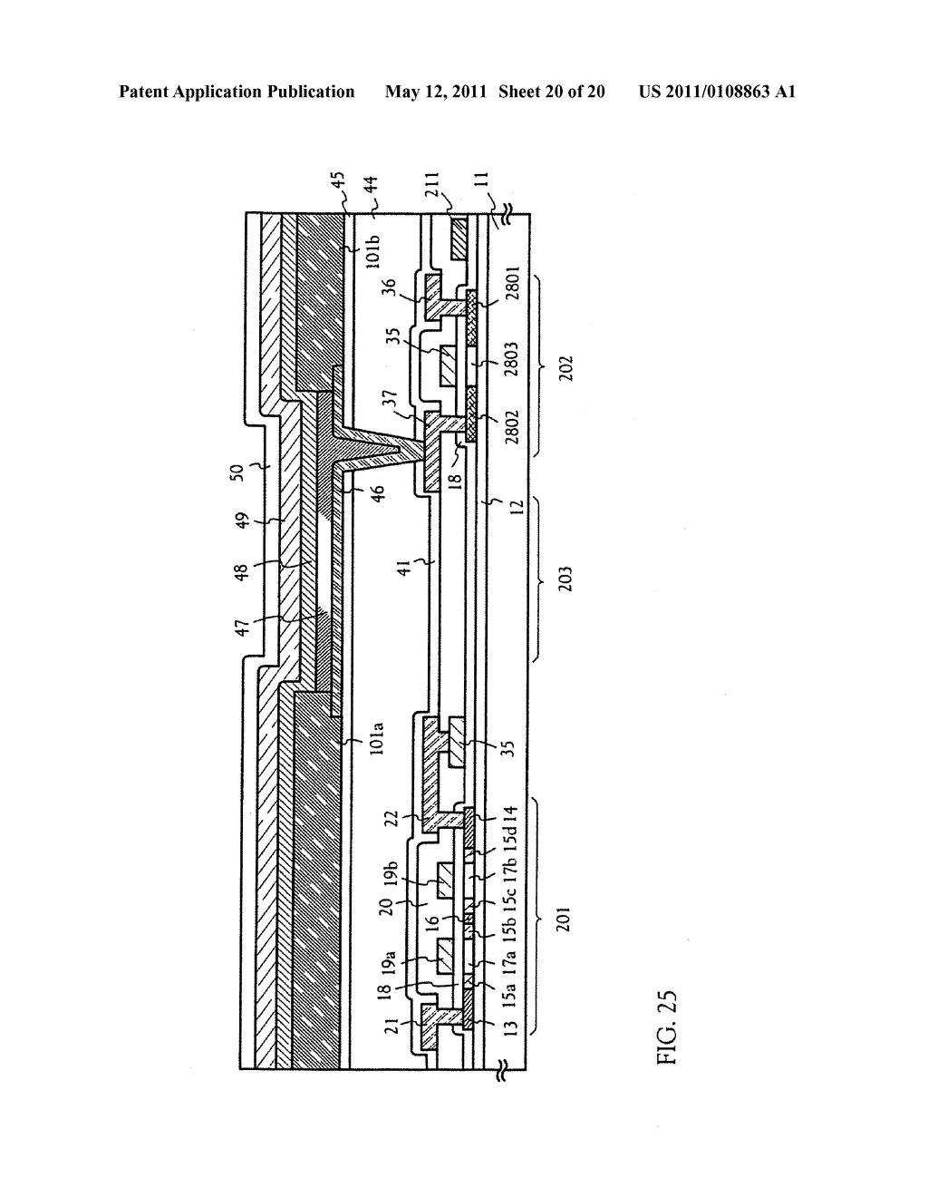 METHOD FOR MANUFACTURING AN ELECTRO-OPTICAL DEVICE - diagram, schematic, and image 21