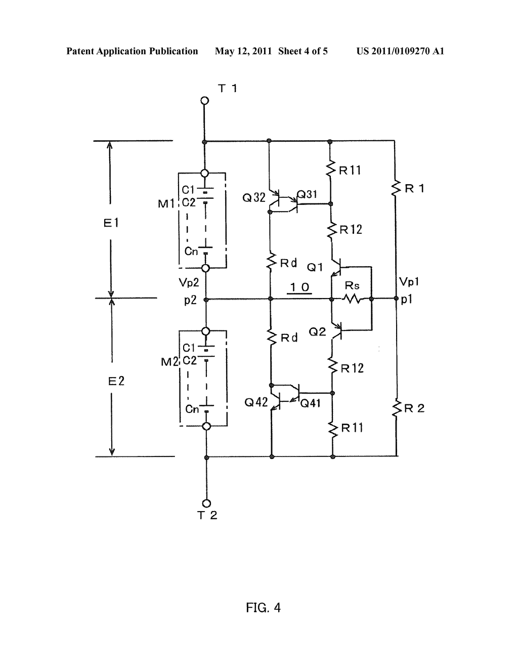 INTER-MODULE VOLTAGE BALANCE CORRECTING CIRCUIT OF A POWER STORAGE SYSTEM - diagram, schematic, and image 05