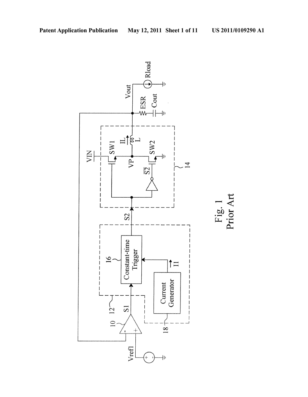 FREQUENCY CONTROL CIRCUIT AND METHOD FOR A NON-CONSTANT FREQUENCY VOLTAGE REGULATOR - diagram, schematic, and image 02