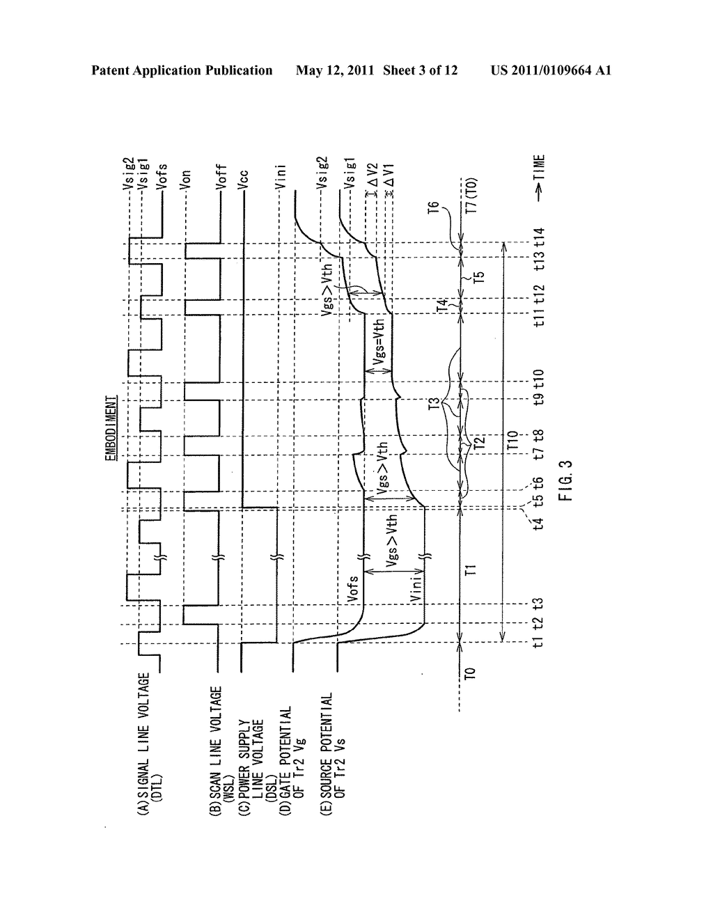 Display device, method for driving the same, and electronic unit - diagram, schematic, and image 04