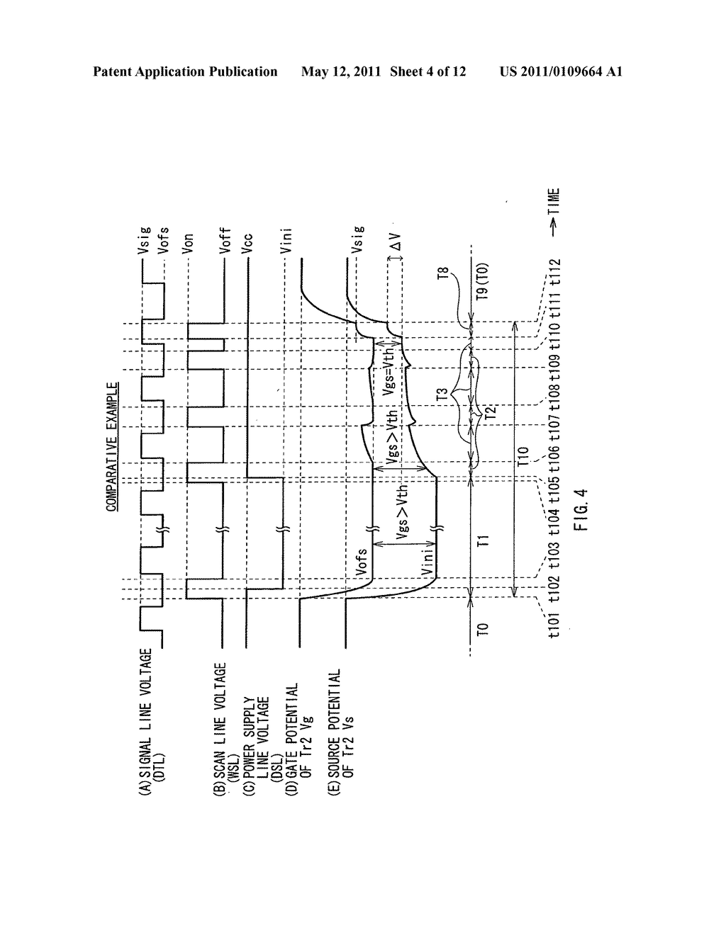 Display device, method for driving the same, and electronic unit - diagram, schematic, and image 05